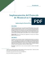 Protocolo de Montreal en Colombia