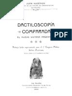 Juan Vucetich - 1904 - Dactiloscopia Comparada