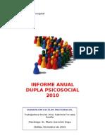 informe anual 2010