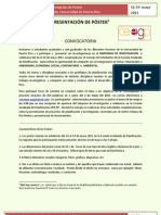 Convocatoria Simposio de Investigacion- Presentacion de Póster[1]