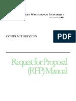 Sample Website Design Rfp Template | Request For Proposal