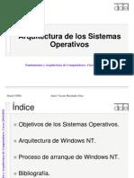 Arquitectura Sistemas Operativos