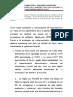 PONENCIA ESPACIO OPDS -ZRC en Montes de María