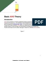 Basic AVO Theory
