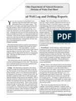 Well-Log Reading and Drilling Report