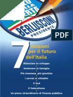 PROGRAMMA 2008 Forza Italia / Popolo della Libertà