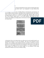 Defects In Friction Stir Welding