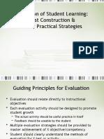 Construct Test Item