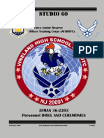 Vineland High School AFJROTC Drill Manual