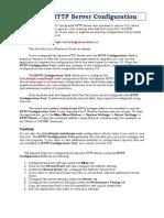 Apache HTTP Server Configuration Redhat