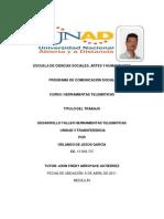 Desarrollo Taller Herramientas Telemáticas  Transferencia PDF