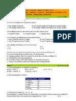Θέματα εξετάσεων Χημείας Λυκείου 2010
