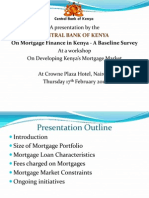 Mortgage Study Survey Presentation Cbk