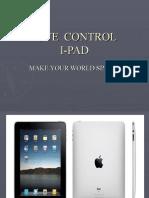 Remote Control I-pad