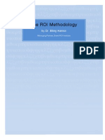 ROI Methodology White Paper