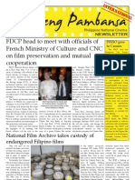 Film Development Council of the Philippines Newsletter (International)