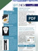 Boletín Informativo Acquajet News  nº 2