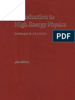 Perkins - Introduction to High Energy Physics