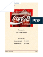 24172639 Project on Coca Cola in Pakistan