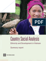 Country Social Analysis Ethnicity and Development in Vietnam