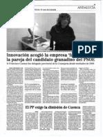 Delegación de Innovación y la empresa fantasma de la mujer de Paco Cuenca
