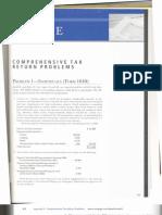 Comprehensive Tax Return Problems