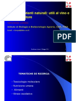 Enoforum 2011 - Vincenzo Longo sugli antiossidanti naturali