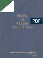 Design of Welded Structures