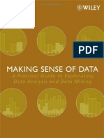 Making Sense of Data a Practical Guide to Exploratory Data Analysis and Data Mining