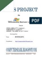 Windows Server 2003 Security, Reliability, User Internet
