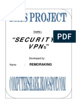 VPN Security Mechanisms