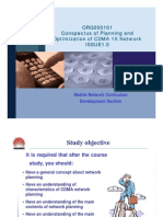 00-Conspectus of Planning and Optimization of CDMA 1