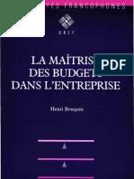 La Maitrise Des Budgets Dans l4entreprise