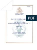 Socio Economic Development Plan-Cambodia (2001-2005)
