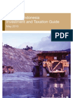 Mining Investment and Taxation Guide 2010