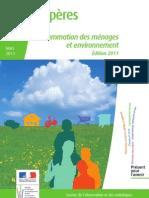 consommation des ménages et environnement