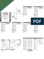 DEH-2300R Installation Manual en FR de NL