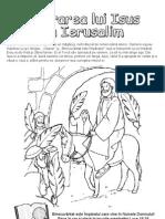 Lectia 22 Intrarea Lui Iisus in Ierusalim