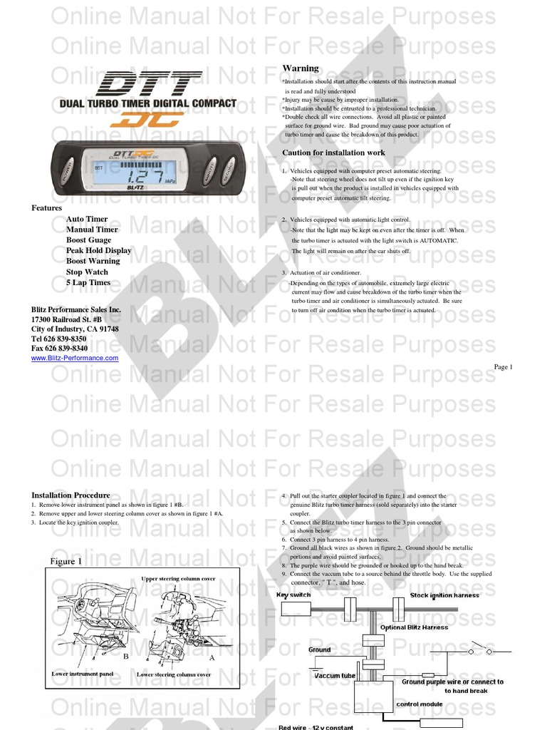 Awesome Apexi Auto Timer For Na & Turbo Manual Elaboration ...