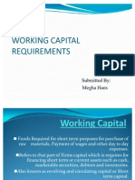 14Working Capital Requirement
