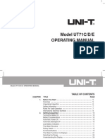 UT71CDE Eng Manual