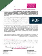 Communiqué de presse Balades en Yvelines 2011