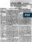 The Mississippi Flood by H. L Mencken