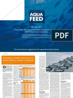 The potential of distillers dried grains and solubles (DDGS) for inclusion in aquafeeds