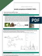 EPOXIDIZED Plukenetia conophora oil BASED THIOL – ene coatings