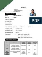 Printout Resume