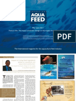 The impact of climate change on the supply of aquafeed ingredients
