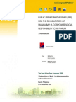 Proceedings of the Public-Private Partnerships (PPP) for the Rehabilitation of Manila Bay