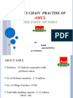 Supply Chain model of AMUL