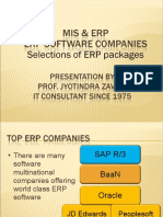 3 ERP 1 SAP Oracle Show